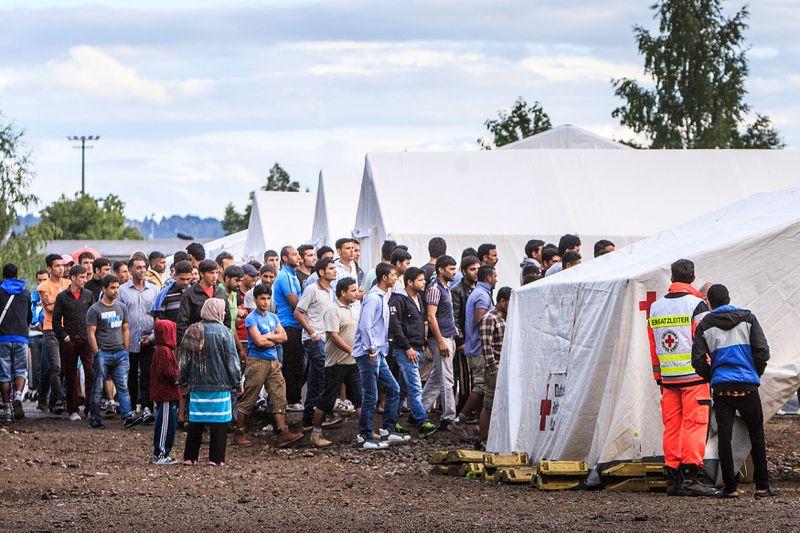 Syrian refugees Dresden