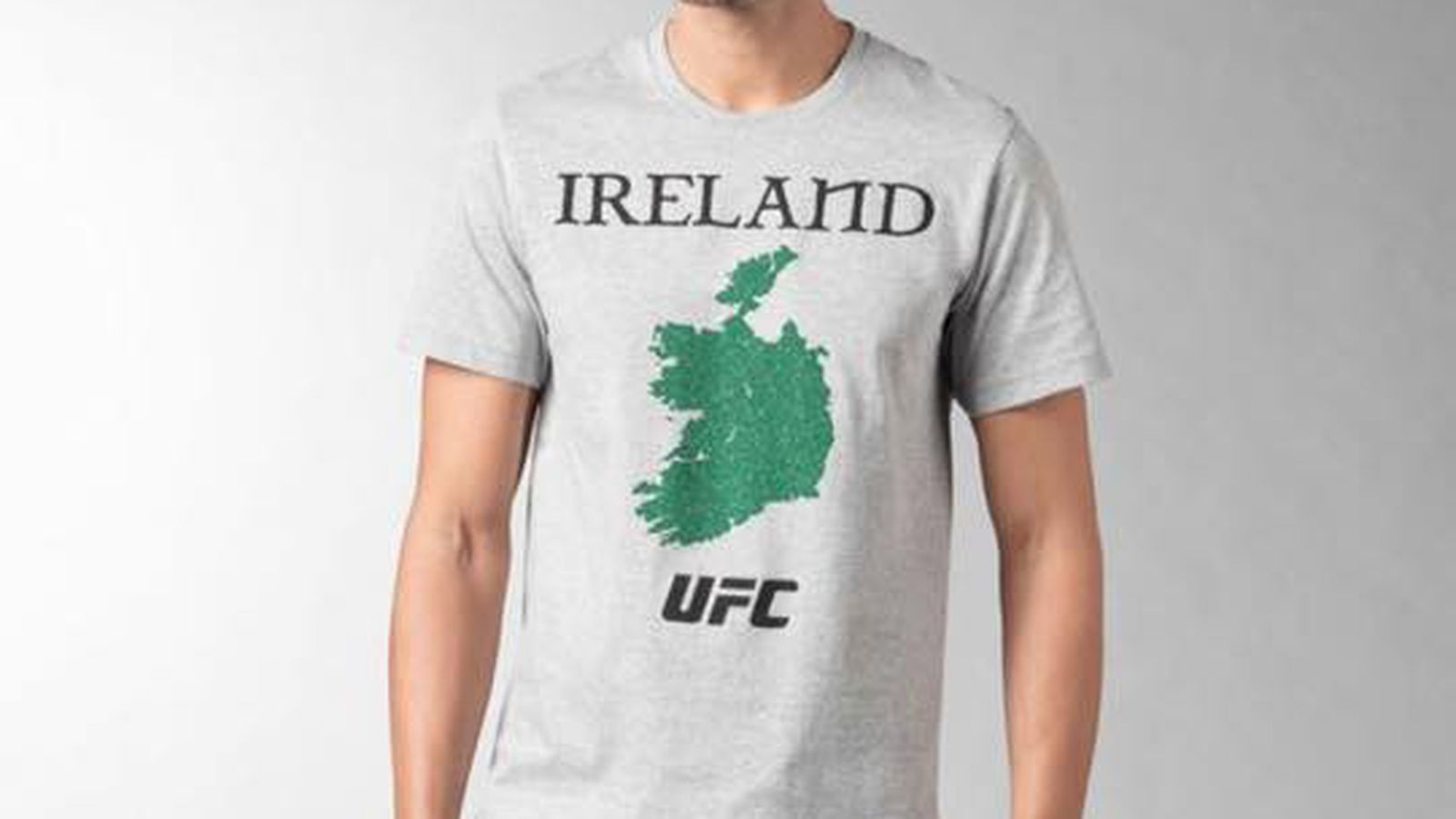 Reebok blames 39 design error 39 for controversial ufc ireland for Controversial t shirts uk