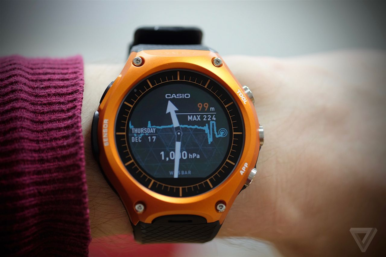 Casio S First Smartwatch Brings Android Wear Outdoors