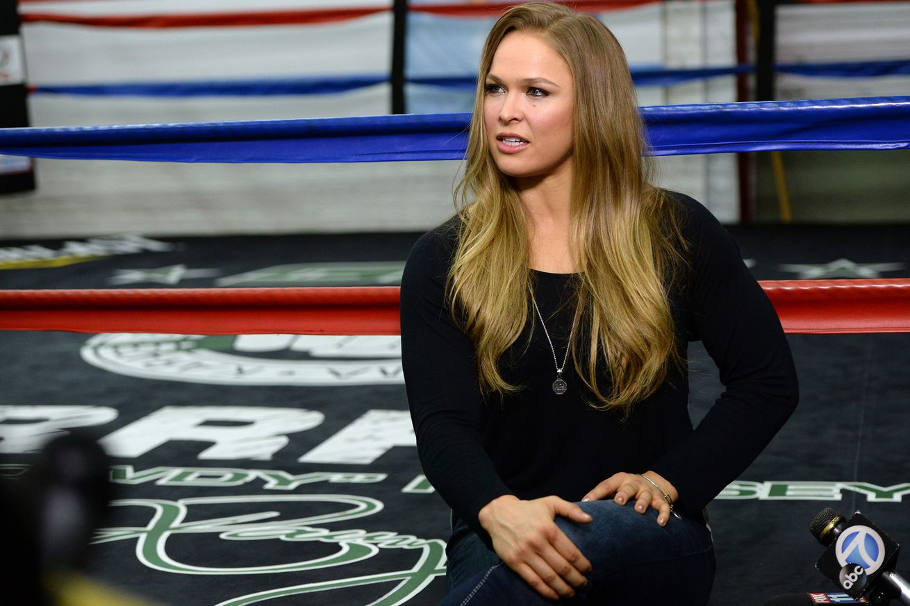 community news, Ronda Rousey didnt watch Miesha Tates win over Holly Holm at UFC 196, offers up reaction anyway
