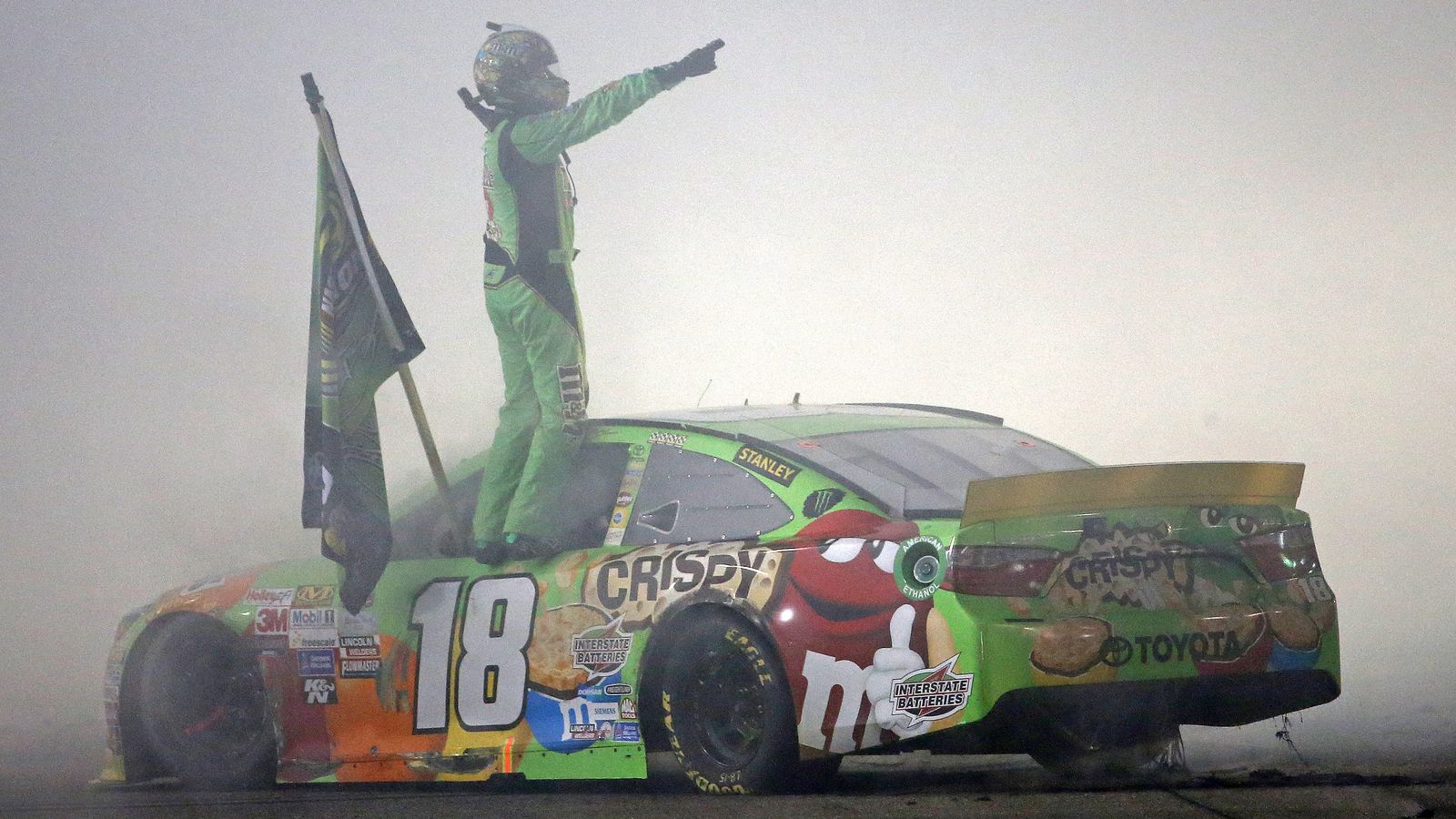 Kyle Busch's NASCAR championship is one for the whole