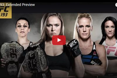 community news, UFC 193 extended video preview for Rousey vs Holm PPV on Nov. 14 in Australia