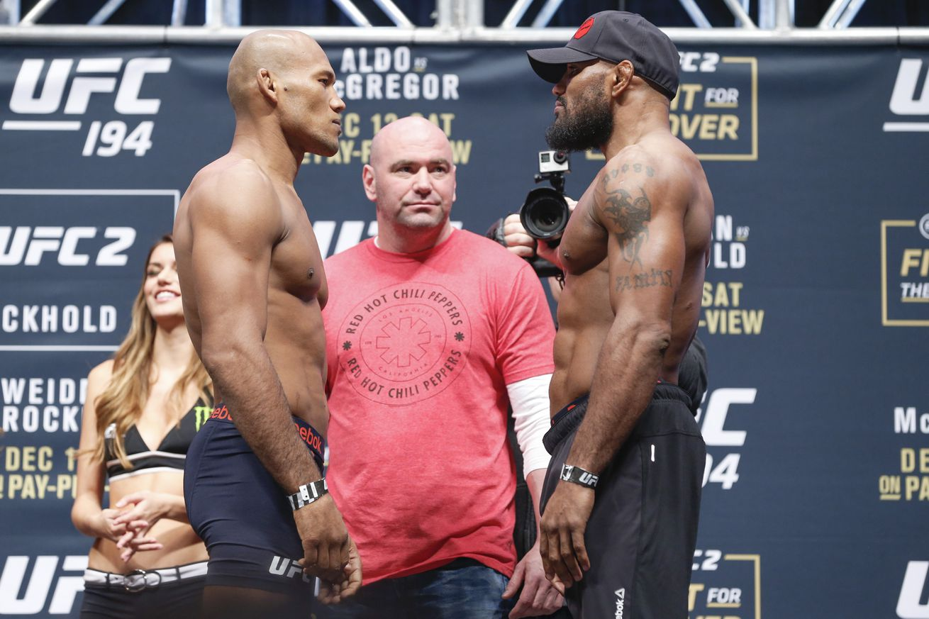 Jacare Souza squares off against Yoel Romero at UFC 194 on Saturday ...