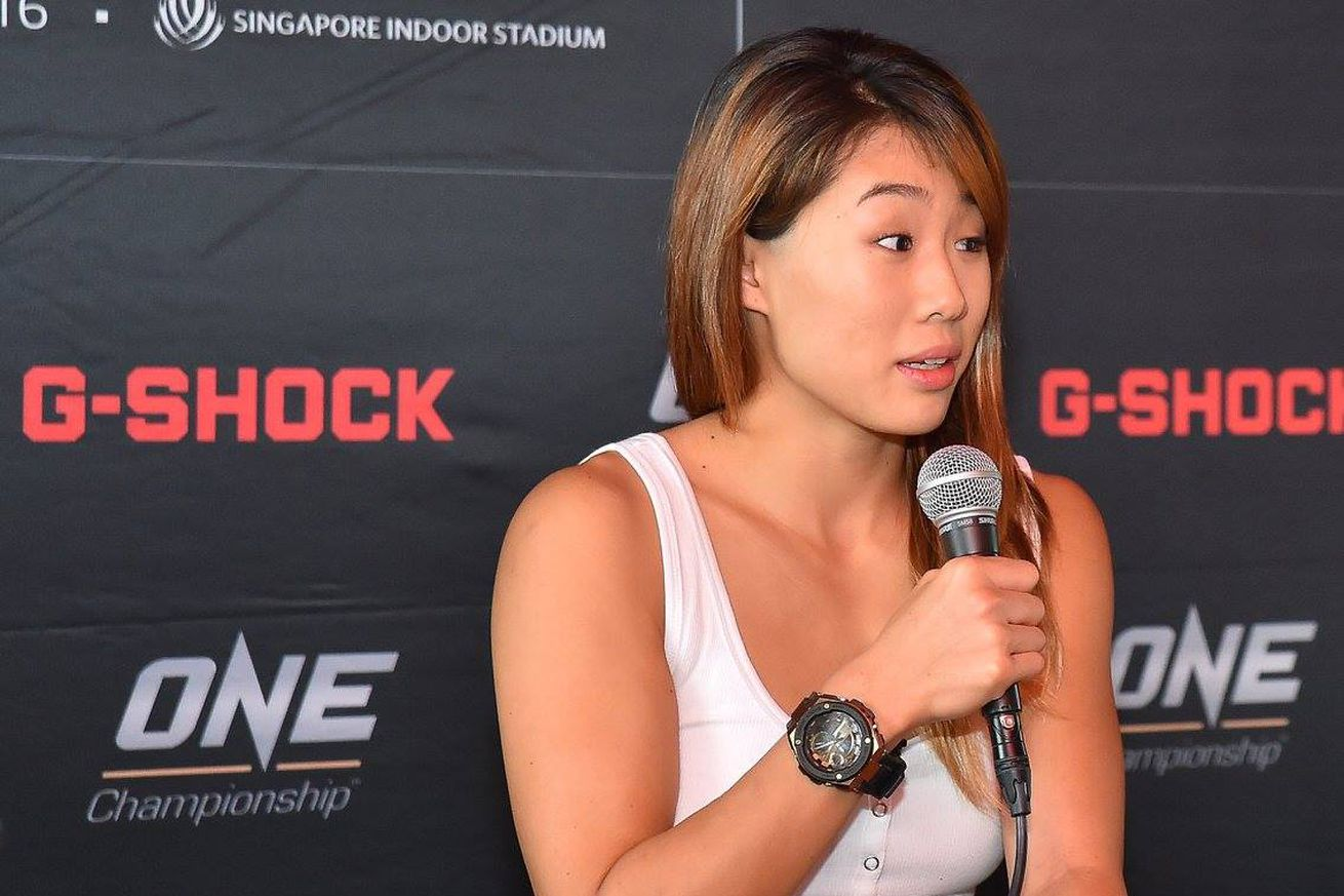 Angela Lee has designs on ONE title, helping women gain stronger voice in Asia