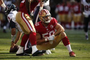 NFL Jersey's Men's San Francisco 49ers Nick Bellore Pro Line Team Color Jersey