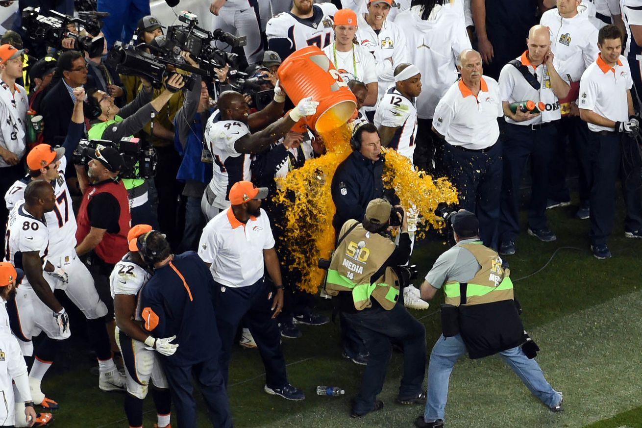 'Sore loser' Newton defends Super Bowl sulk