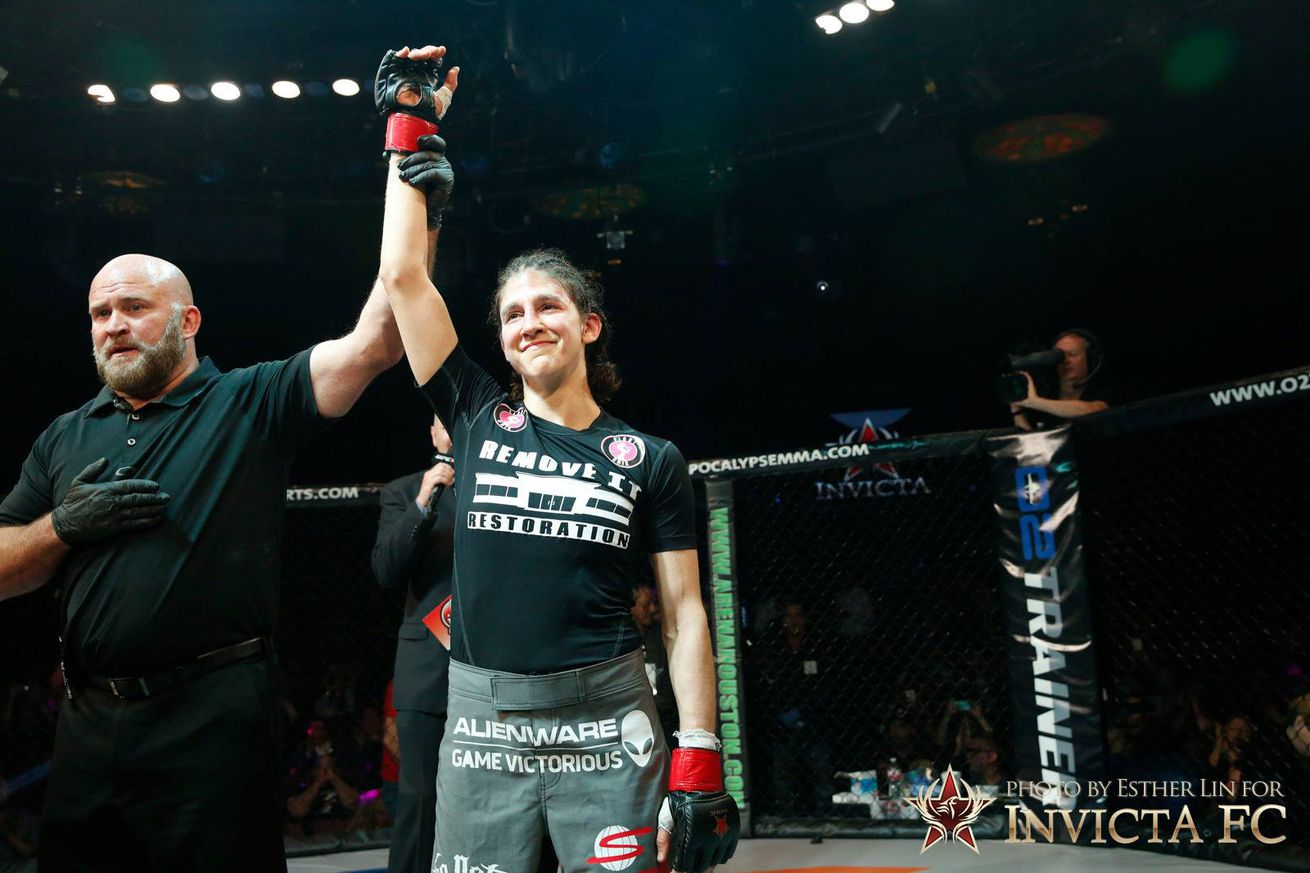 community news, Roxanne Modefferi says earning her place on TUF 18 'changed my career'