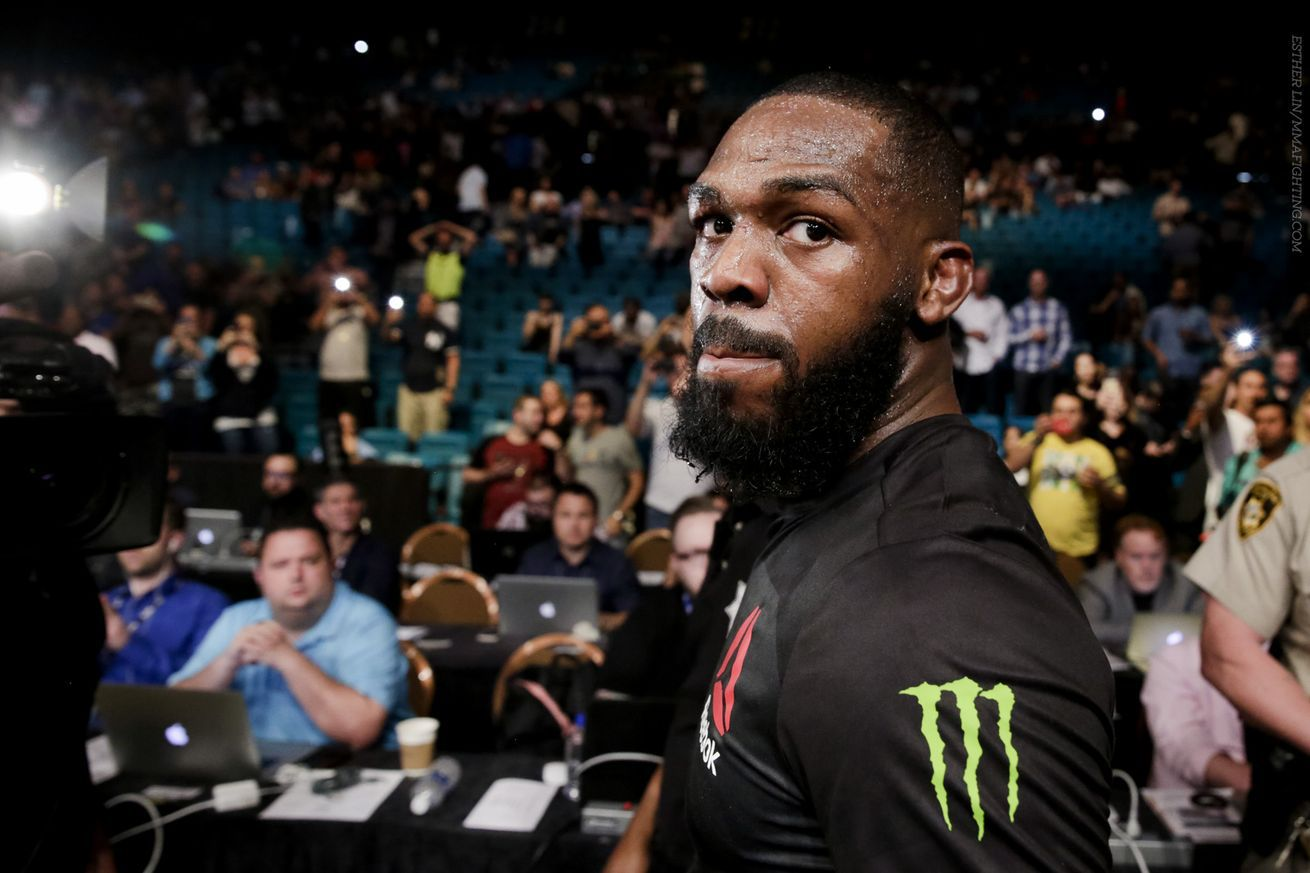 Ignorant Jon Jones denies taking steroids, insists hes not in same boat as Brock Lesnar