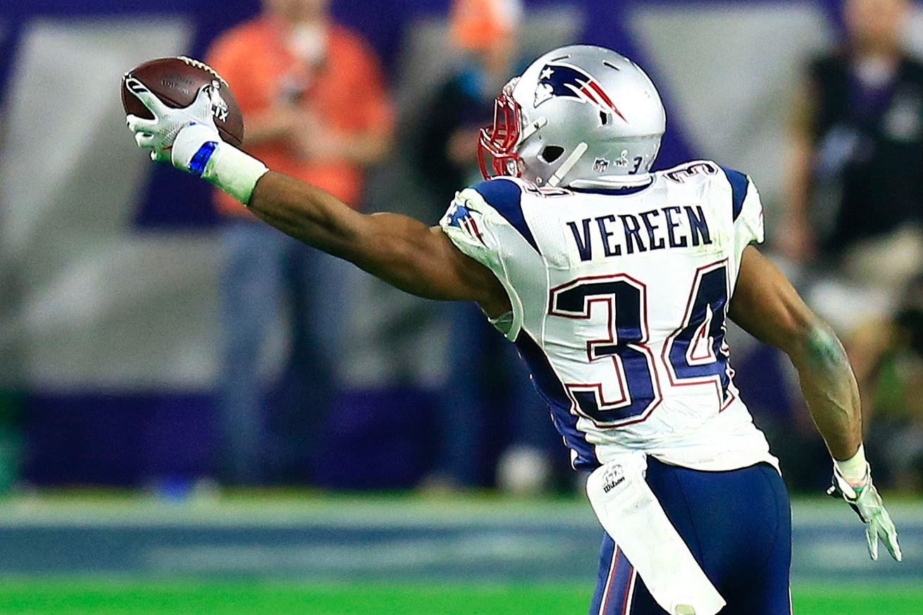 NFL Jerseys - Shane Vereen Signing: Why did Giants add another running back ...