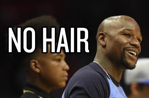 no hair
