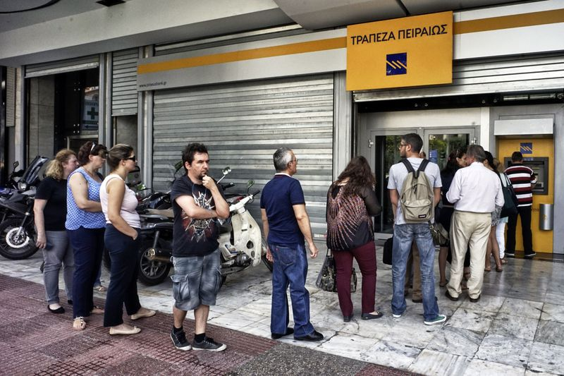 Greece On The Brink Of Financial Collapse As Banks Close For At Least A Week