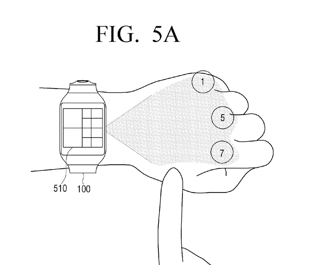New Patent: Smartwatch Will Project Onto You Hand ` (theverge.com)