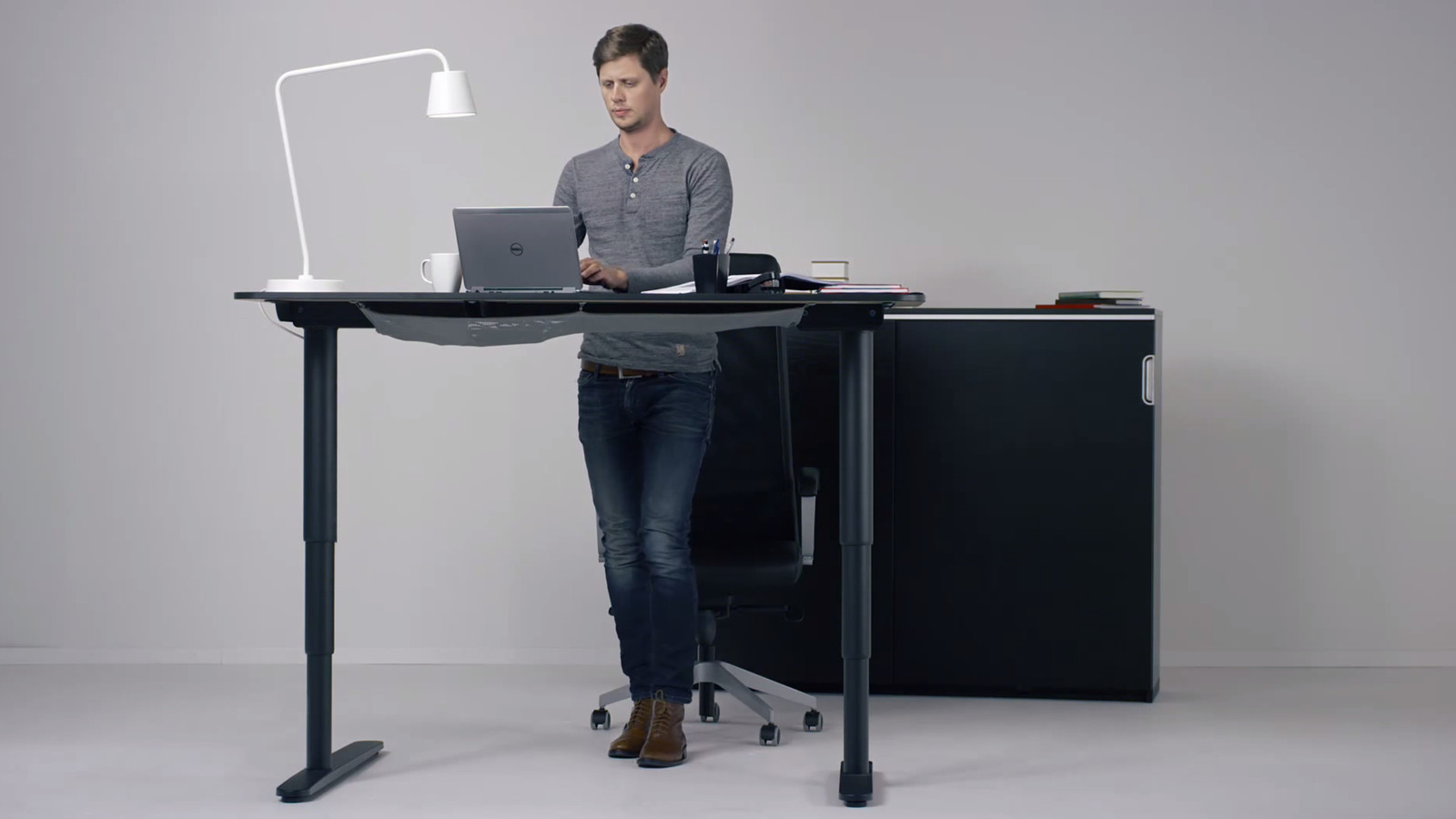 Ikea hopes its new motorized standing desk will get you ...