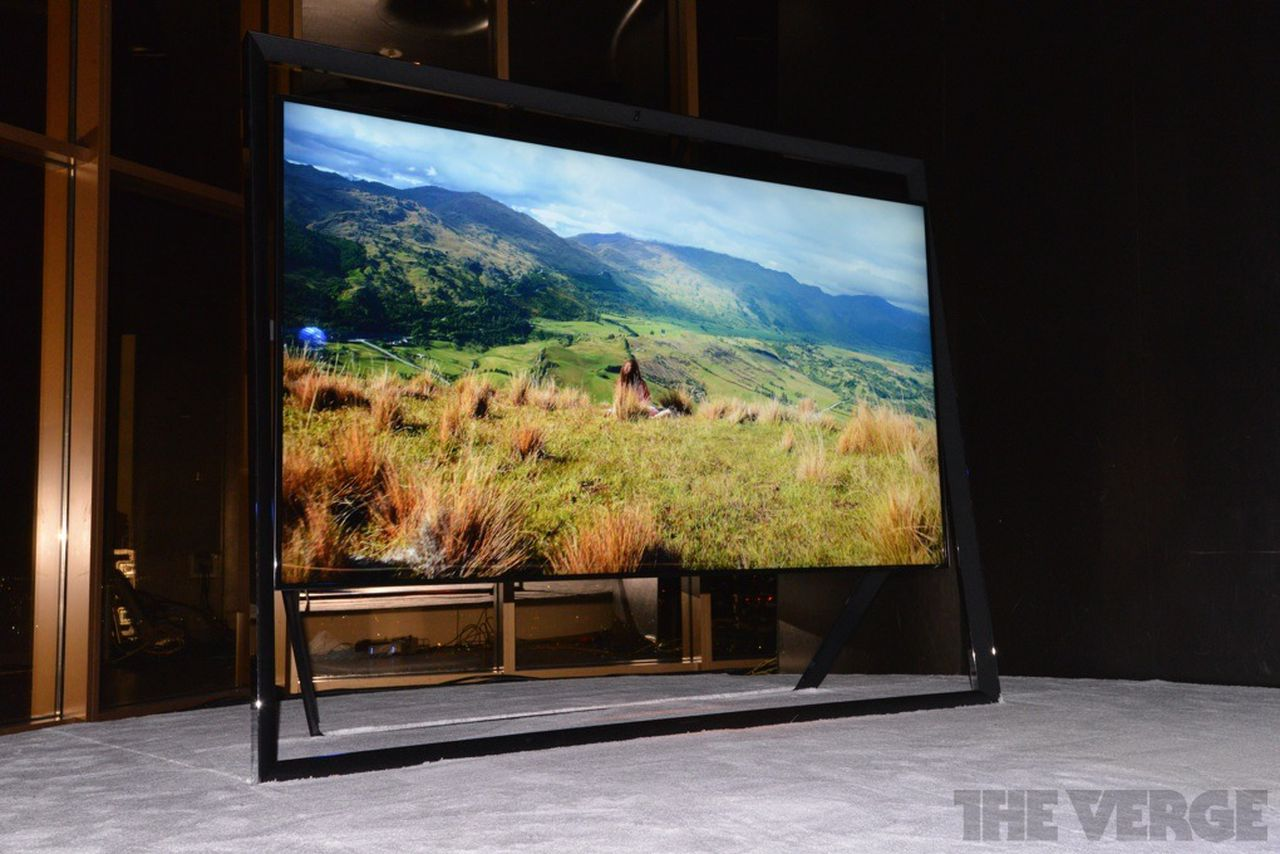 Samsung Unveils Amazing 85 Inch 4k Tv With Floating