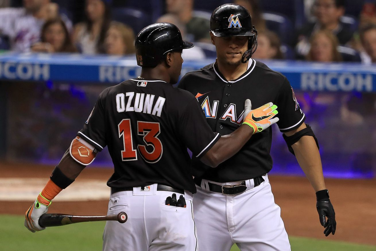 Yelich throws out runner to end game; Marlins beat Sox 5-4