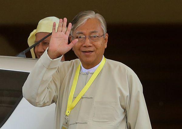 Htin Kyaw, Myanmar's new president.
