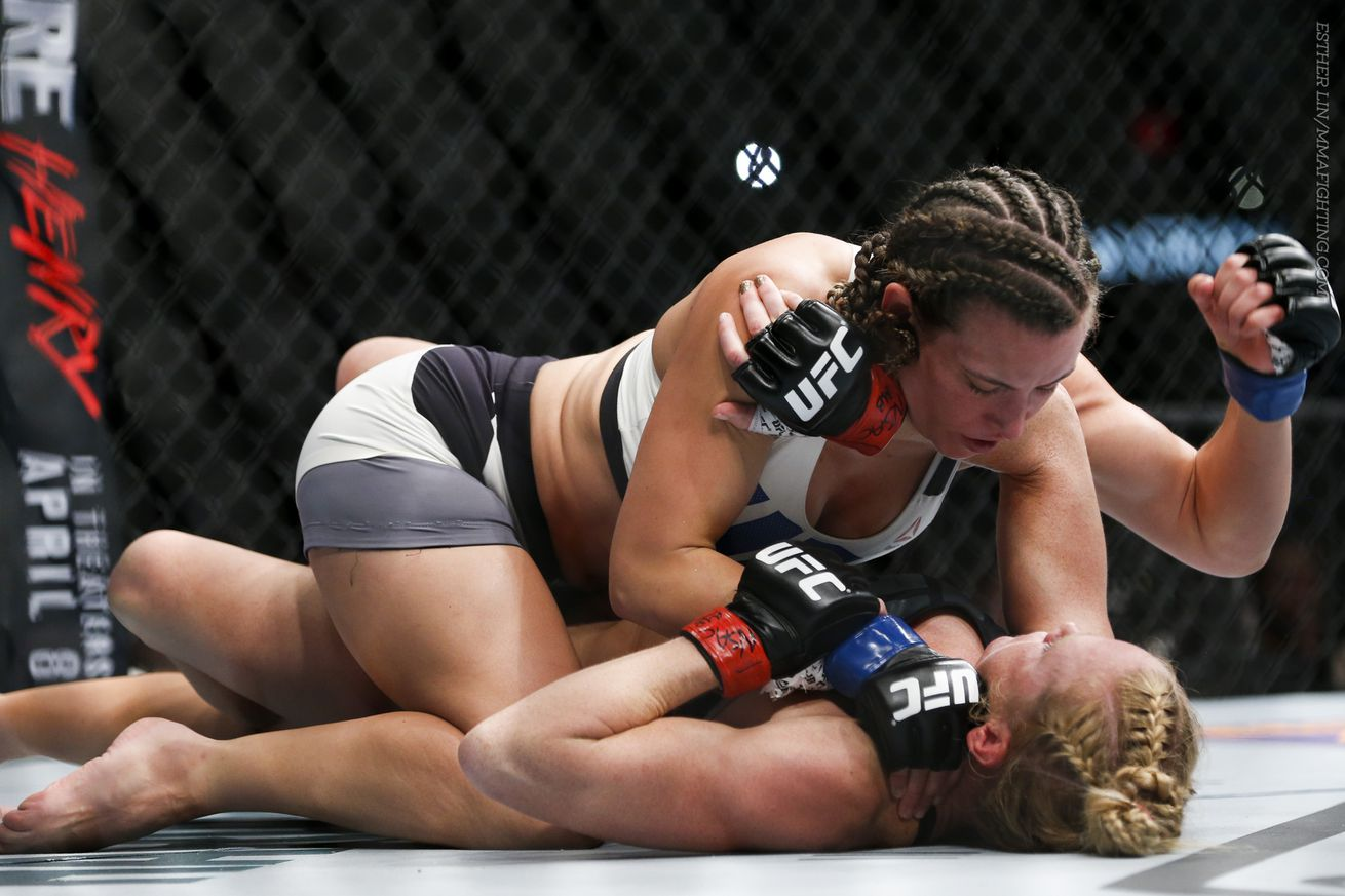 community news, Morning Report: Miesha Tate says Holly Holm crumbled under the pressure after round two at UFC 196