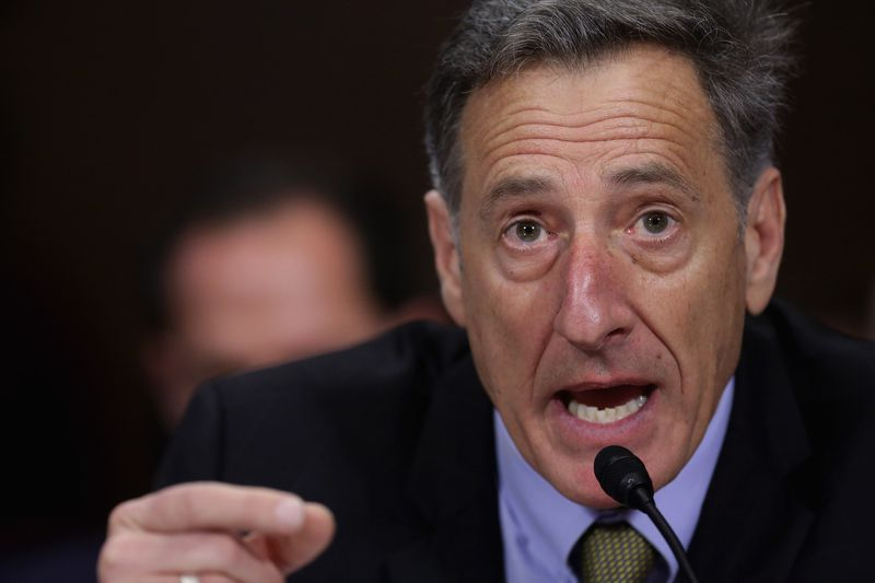 Vermont Gov. Peter Shumlin talks in front of Congress.