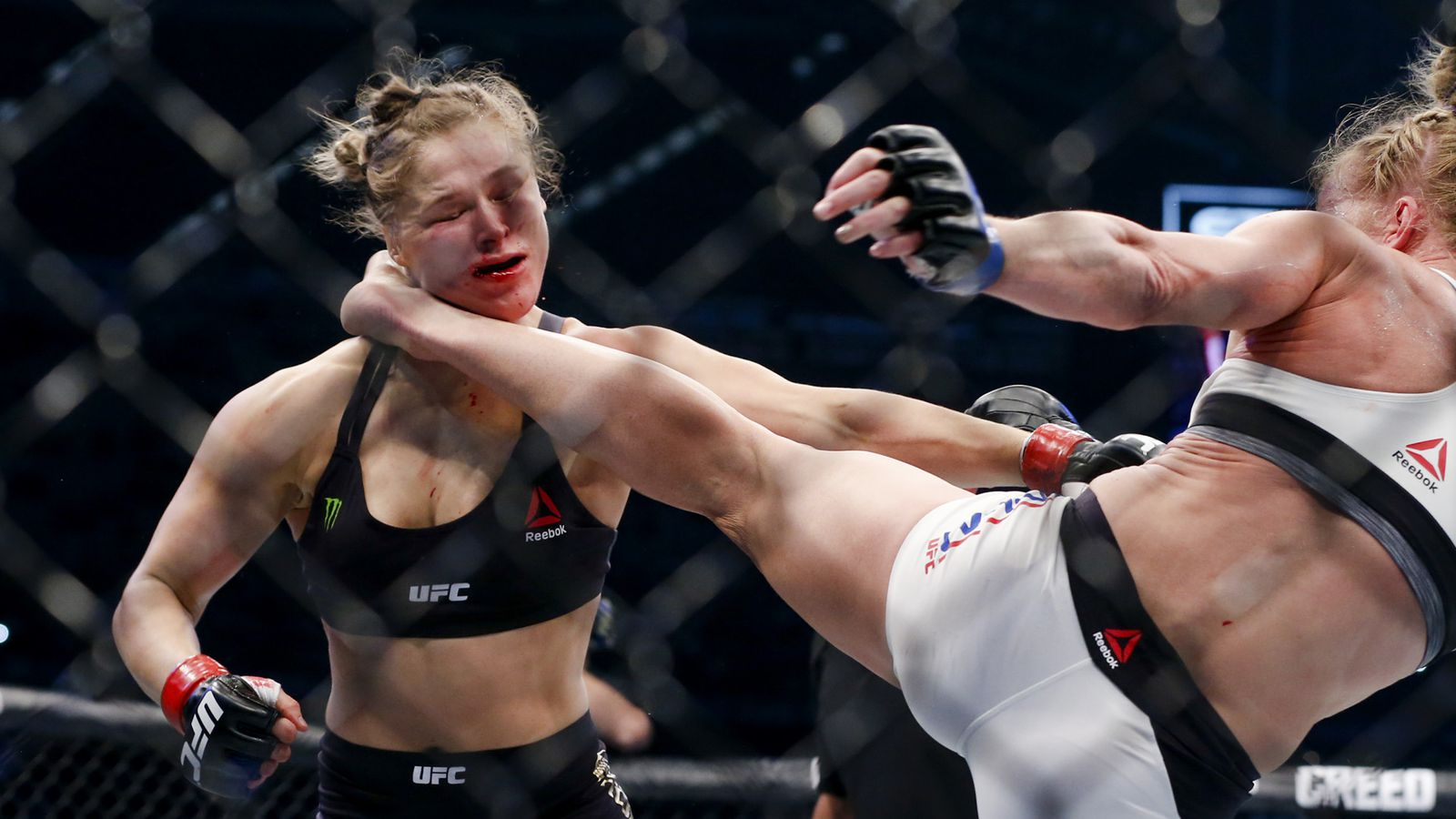 Ronda Rousey Holly Holm