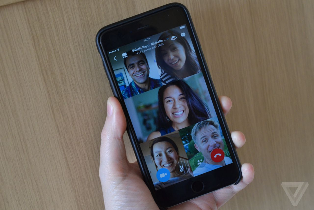 Skype introduces free group video calling across iOS and Android
