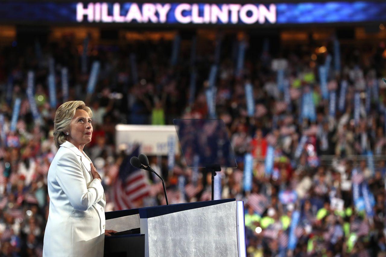 Democratic nominee Hillary Clinton's full speech transcript