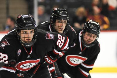 NCHC: Conference Frozen Face Off - St. Cloud State Prevails Over Nameless Squad