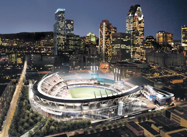 Montreal Proposed Stadium