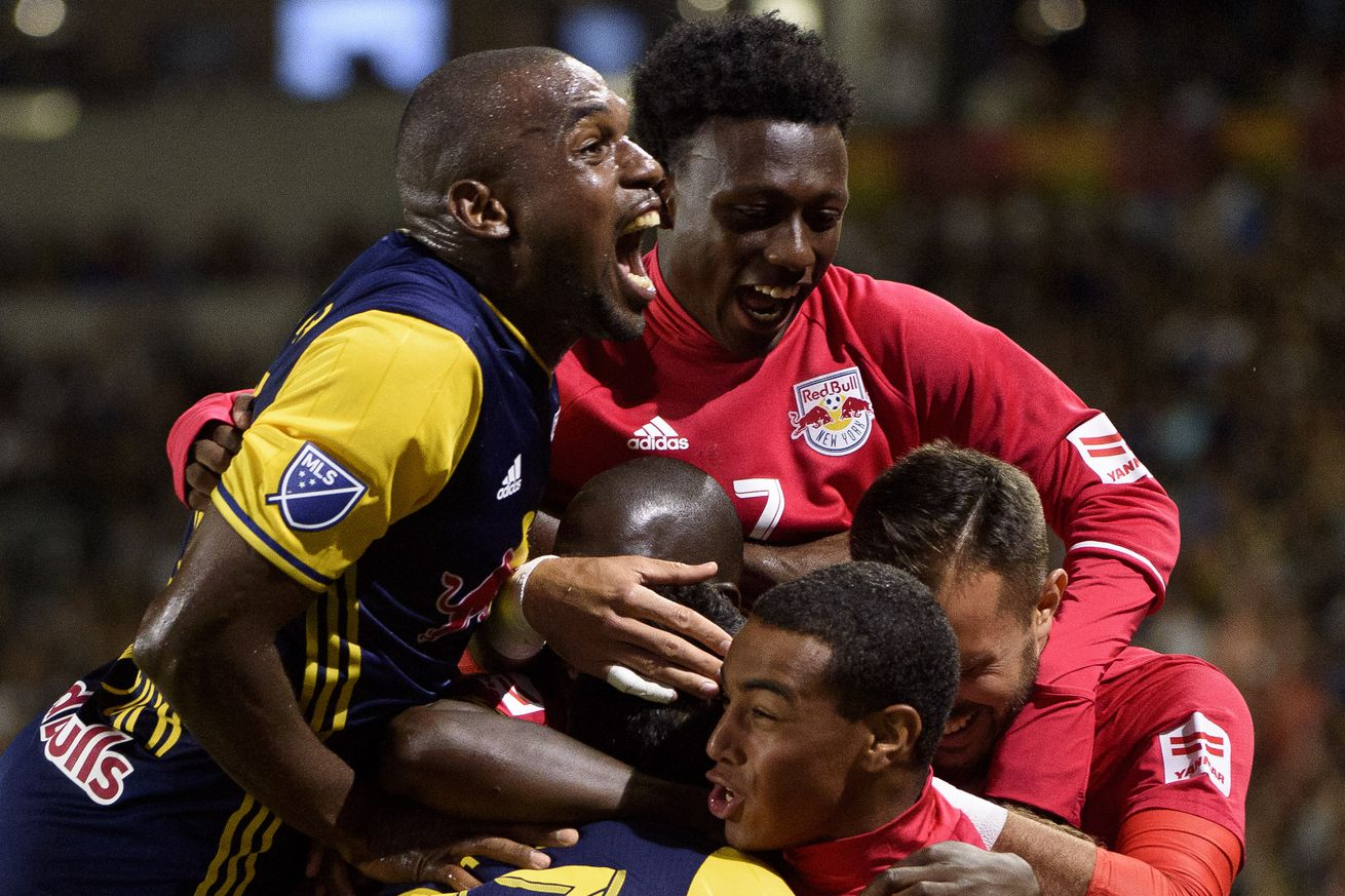 Wright-Phillips scores twice as Red Bulls top Impact 3-1