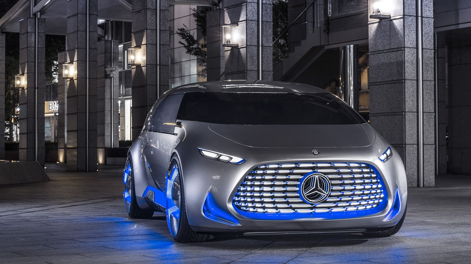 Mercedes-Benz's Vision Tokyo is a self-driving car for the megacity