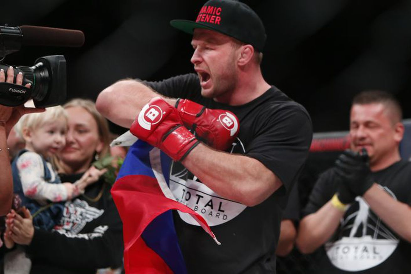 Shlemenko to resume Bellator career after three-year suspension lifted