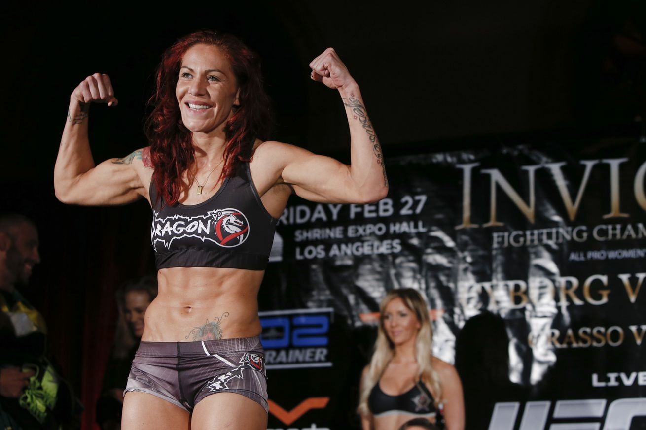 UFC 198: Cris Cyborg suffering to make 140 pounds for Leslie Smith fight in Brazil