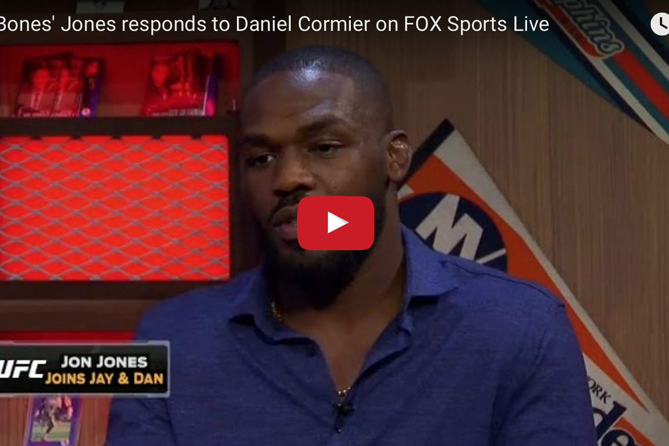 Jon Jones: UFC created Conor McGregor, I think sometimes he forgets that
