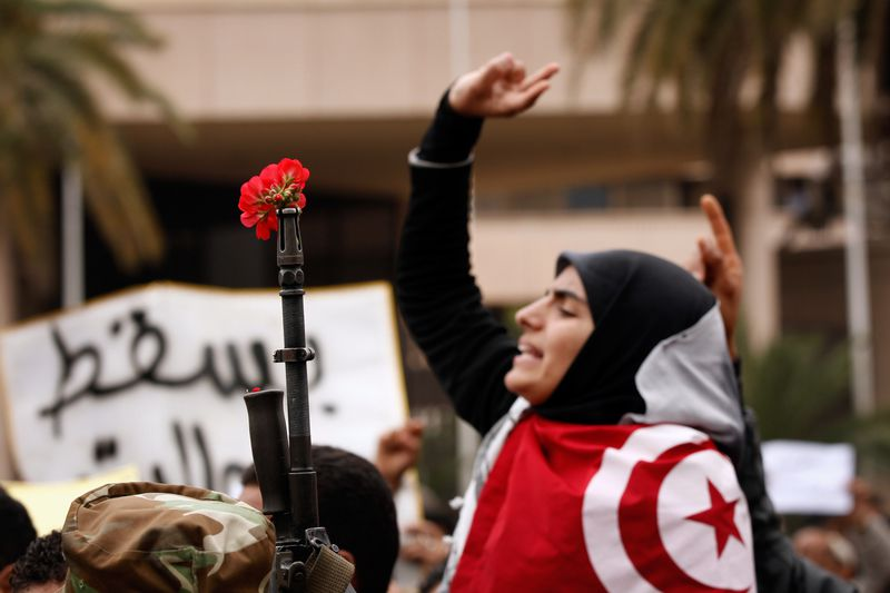 Tunisia protest 2011