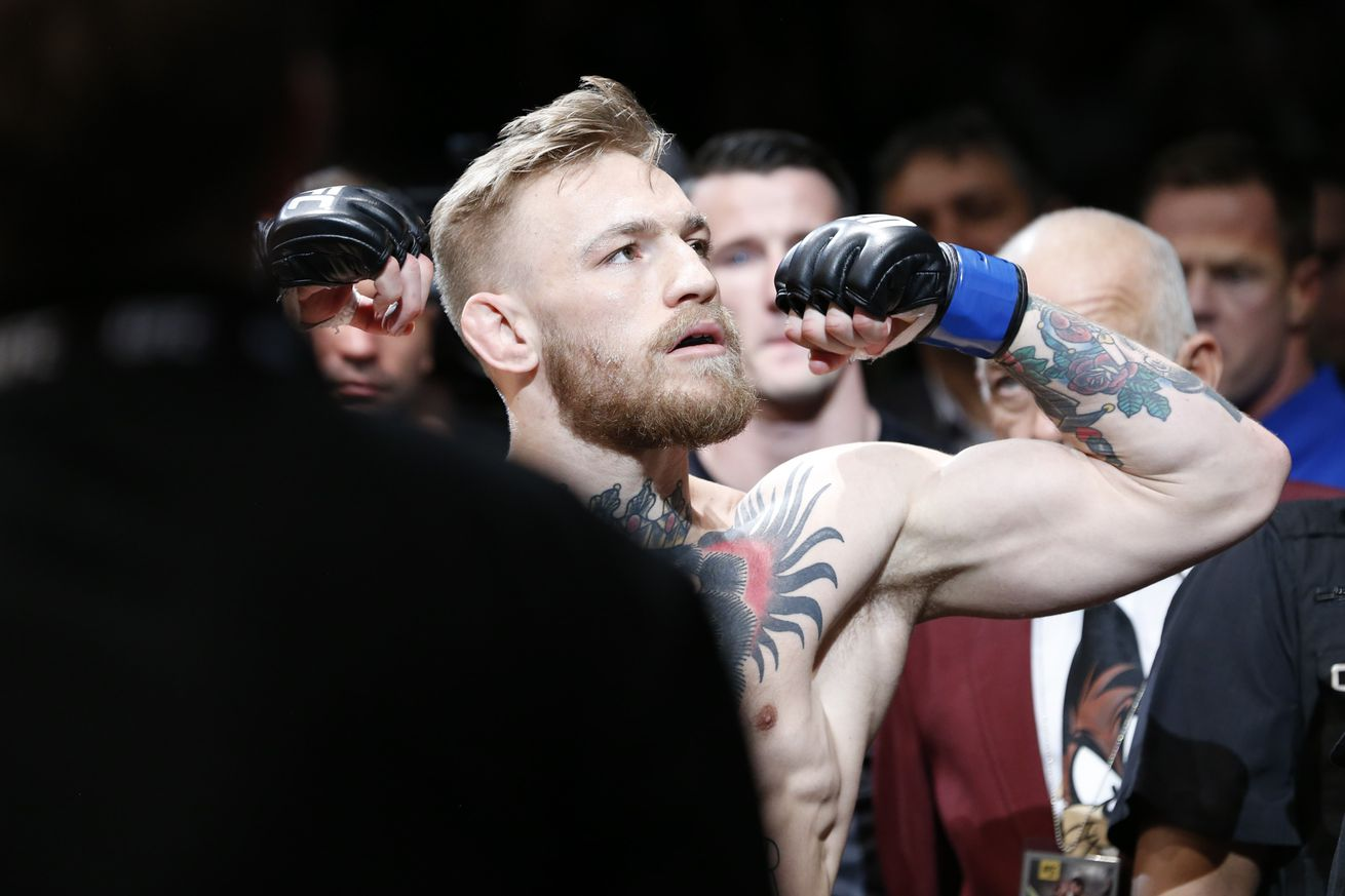 Conor McGregor responds to Dana Whites comments at press conference