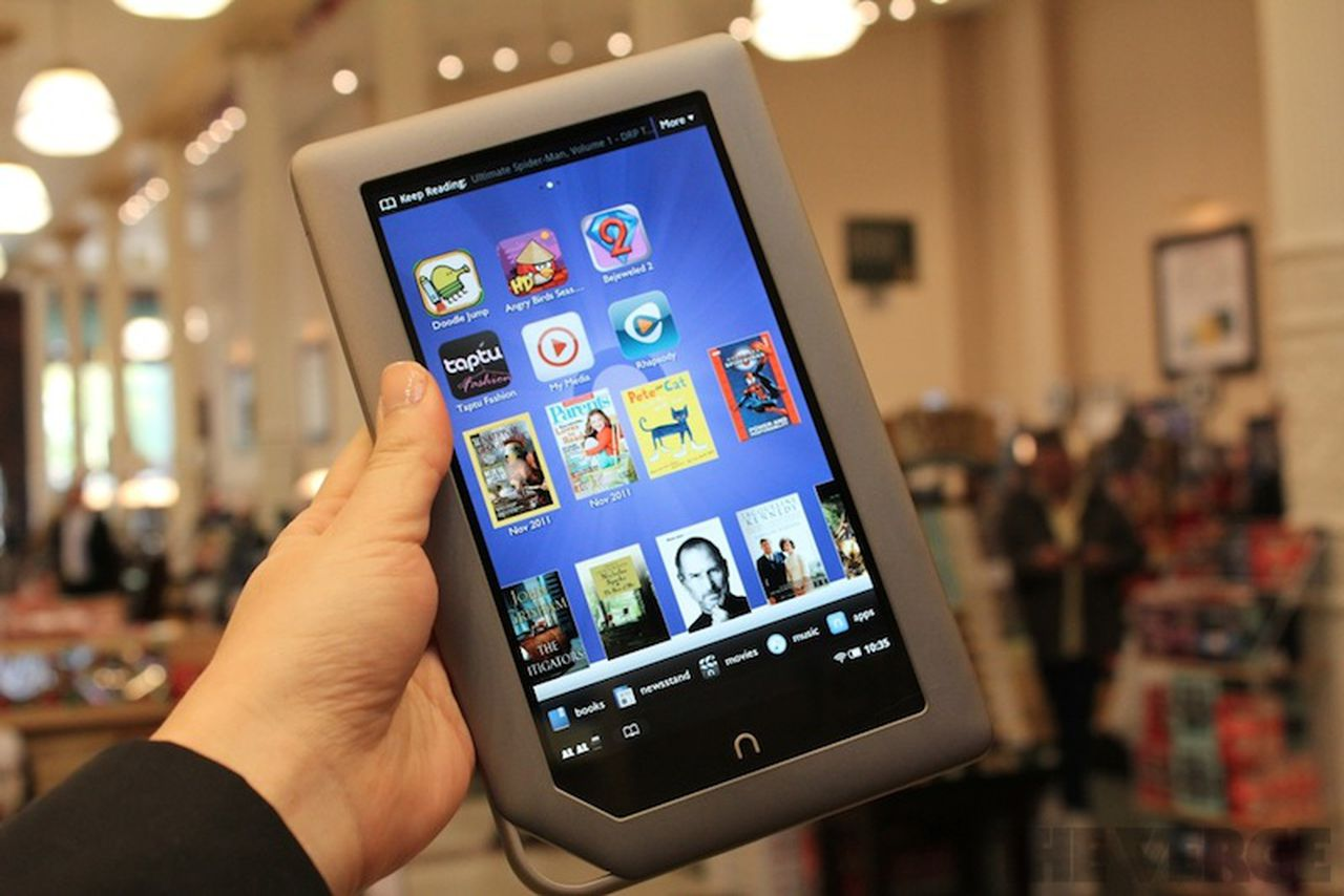 Barnes & Noble Nook Tablet: pictures, video, and hands-on ...