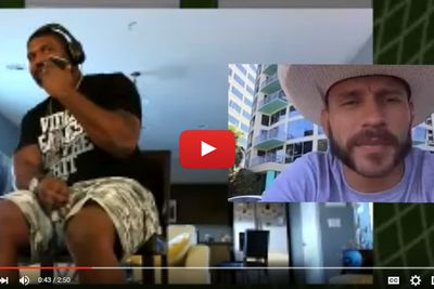 community news, Video: Rampage Jackson prank calls Donald Cerrone, gives Cowboy a taste of dragon nuts