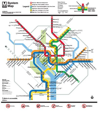 Wmata Subway Map.D C Metro History A Timeline Curbed Dc