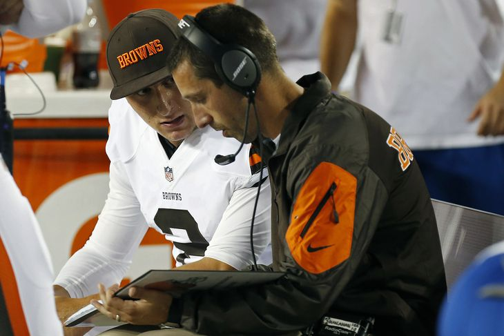 Browns coaches reportedly quit over disagreement about Johnny Manziel's readiness to start