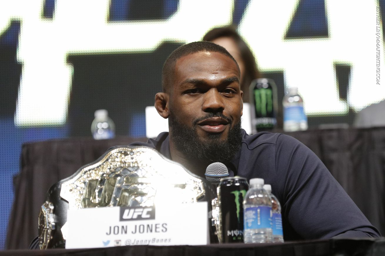 community news, Jon Jones management team on recent arrest: We are taking this very seriously