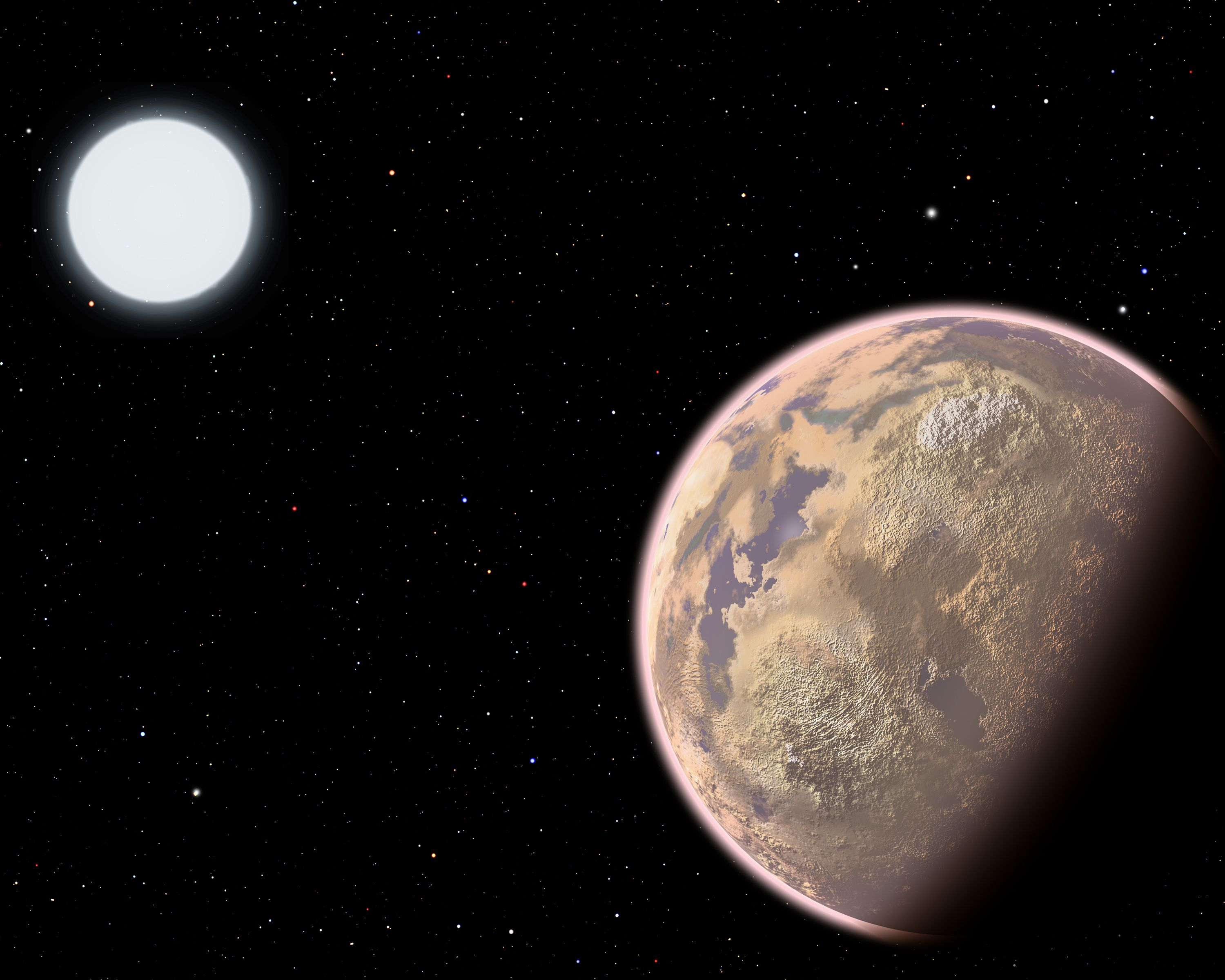 Zombie white dwarf star caught destroying an orbiting ...