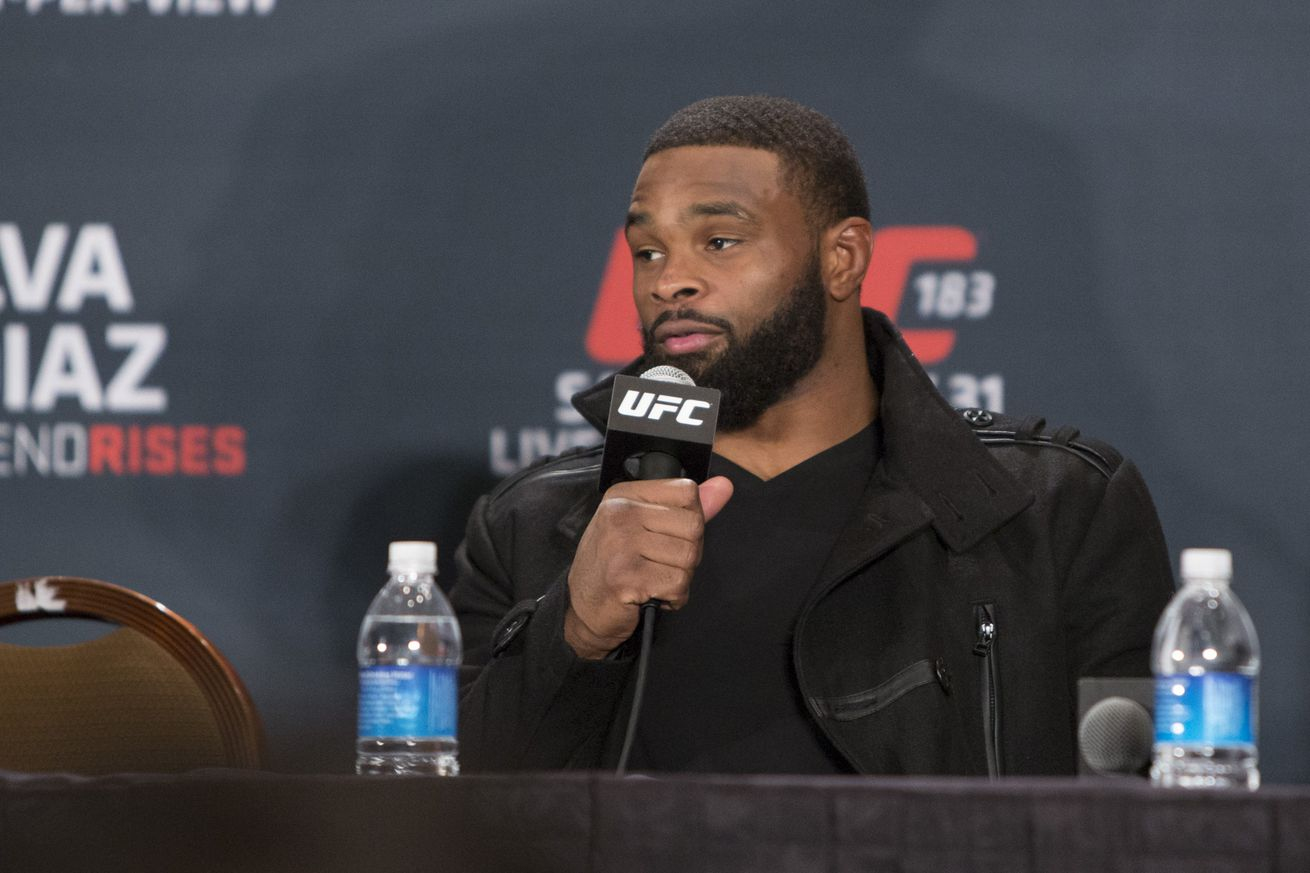 community news, Tyron Woodley talks history with Robbie Lawler, says UFC 201 matchup not official yet
