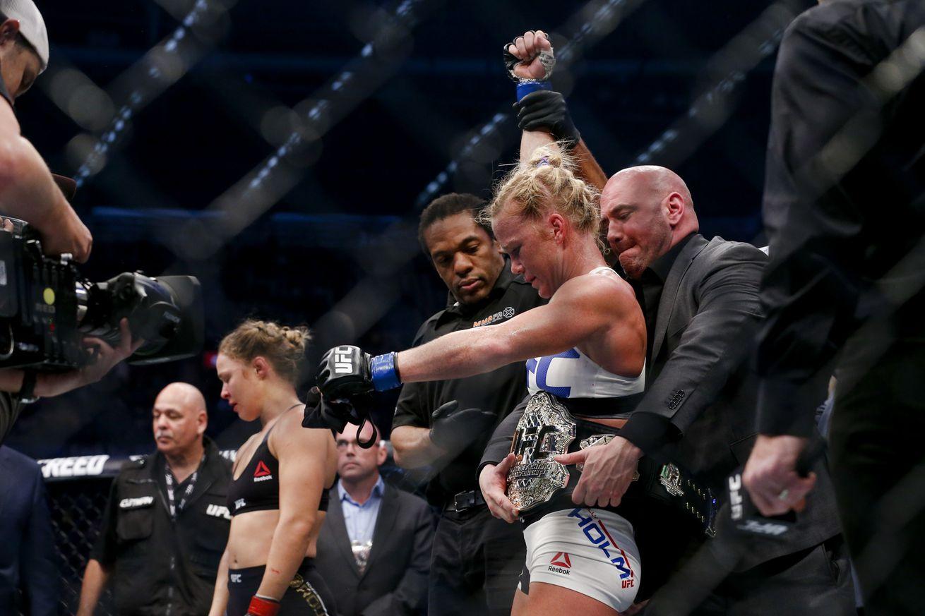 community news, Holly Holm vs. Valentina Shevchenko in the works to headline UFC on FOX 20