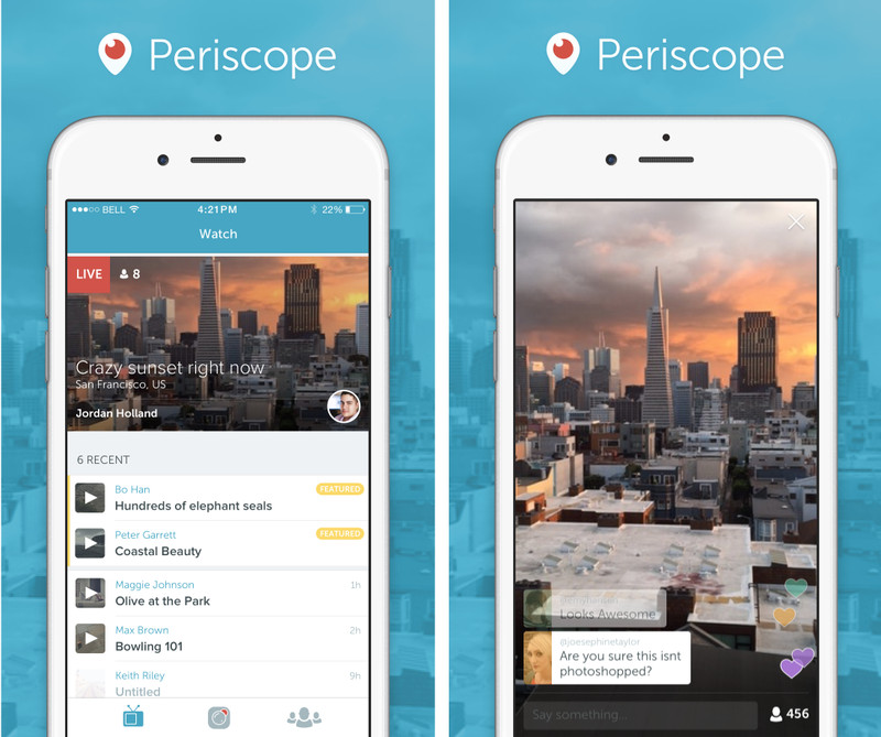 Periscope, Twitter's answer to Meerkat-style live streaming, is ...