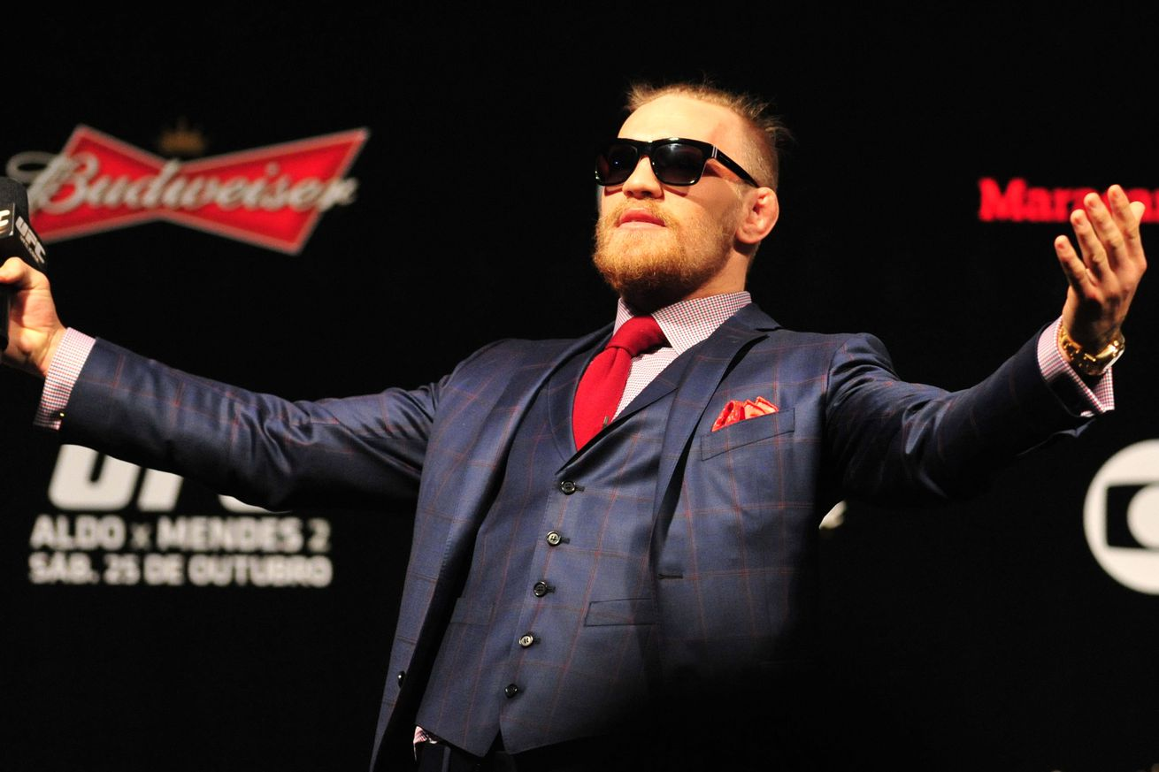 community news, Conor McGregor reportedly spends upwards of $80,000 on custom suits before every media tour