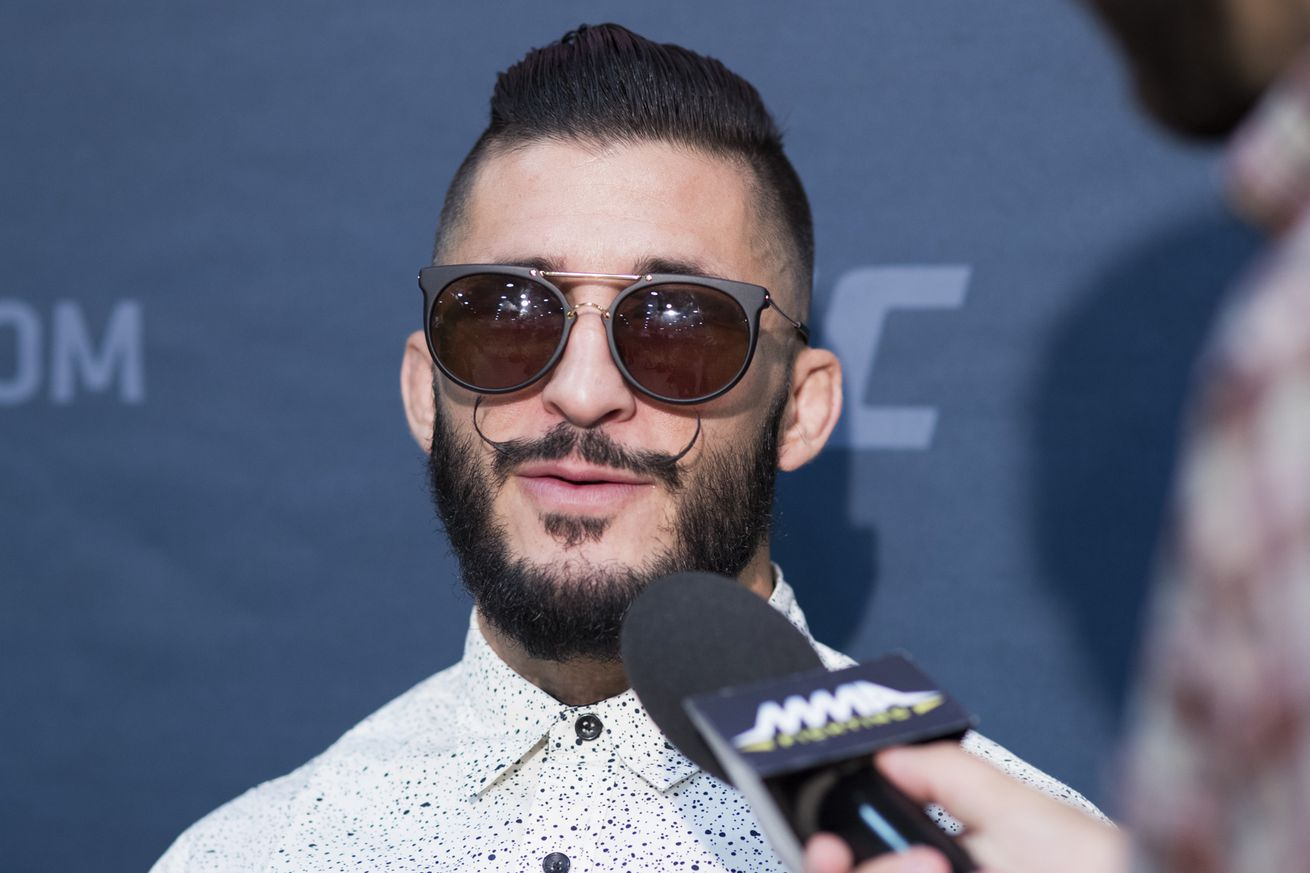 Ian McCall suspects erratic Justin Scoggins snapped before UFC 201 in failing to make weight