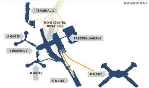 Where To Shop at McCarran International Airport (LAS ...