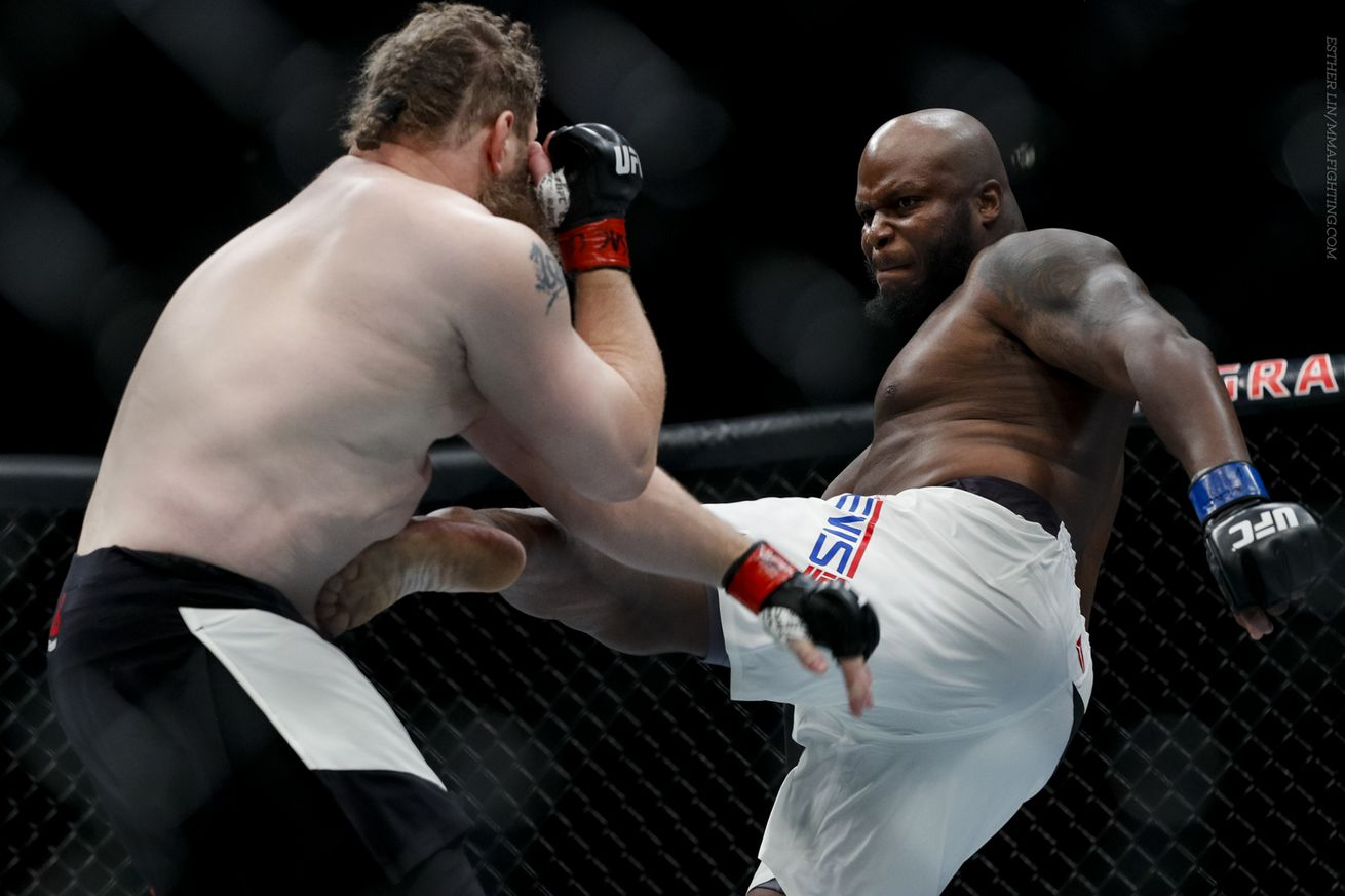 Derrick Lewis estimates 'probably 70 percent' of heavyweight division using PEDs