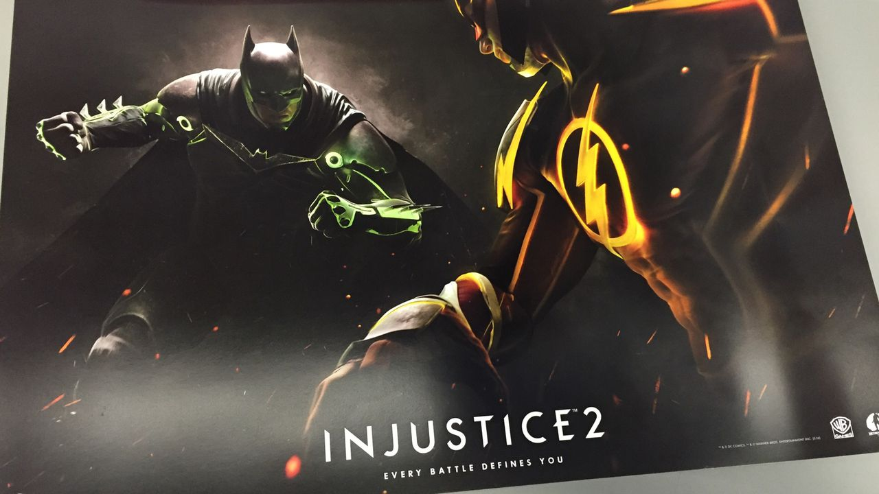 Injustice 2 coming in 2017