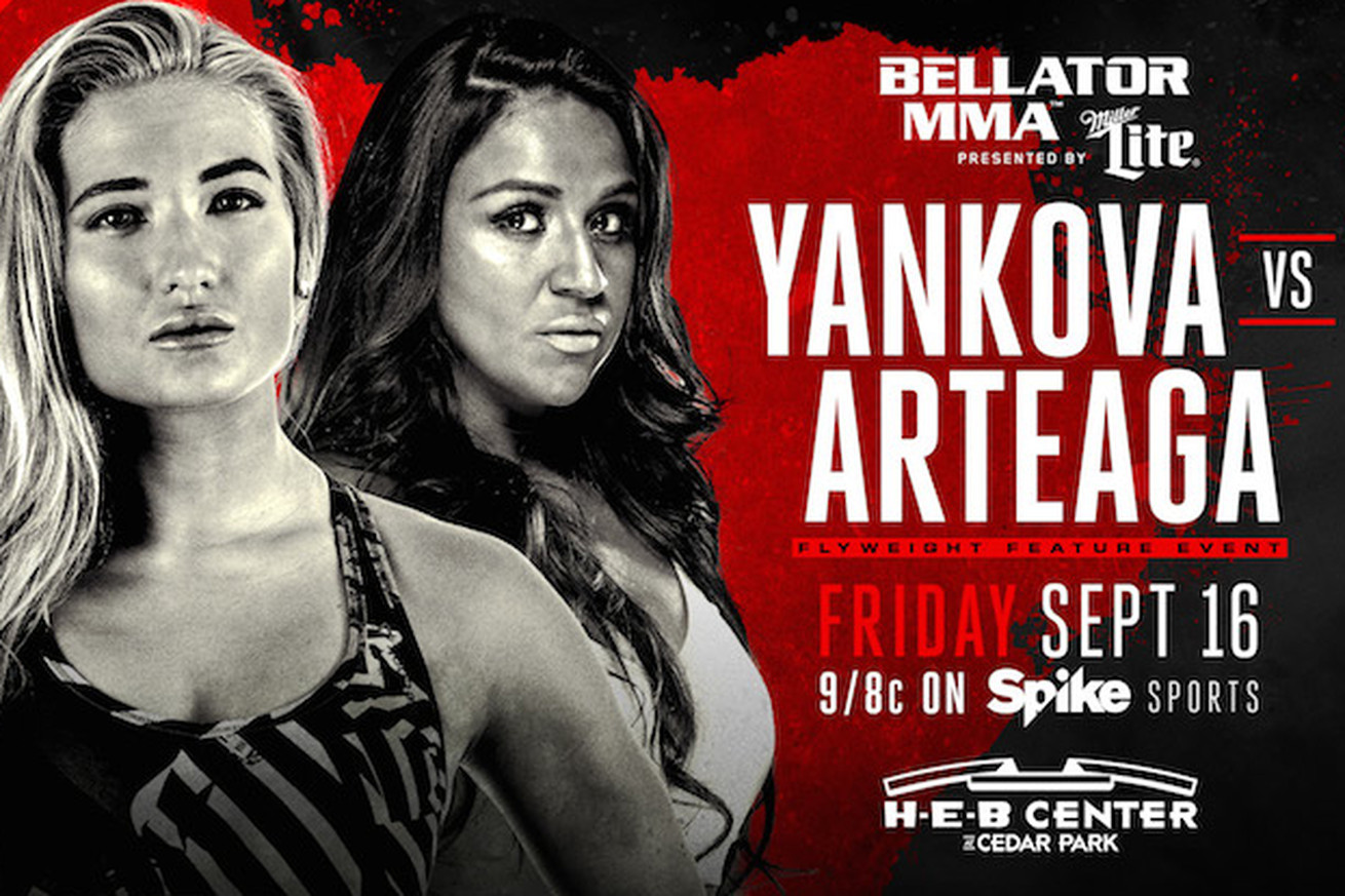 Bellator 161: Anastasia Yankova vs Veta Arteaga set for Sept. 16 on Spike TV
