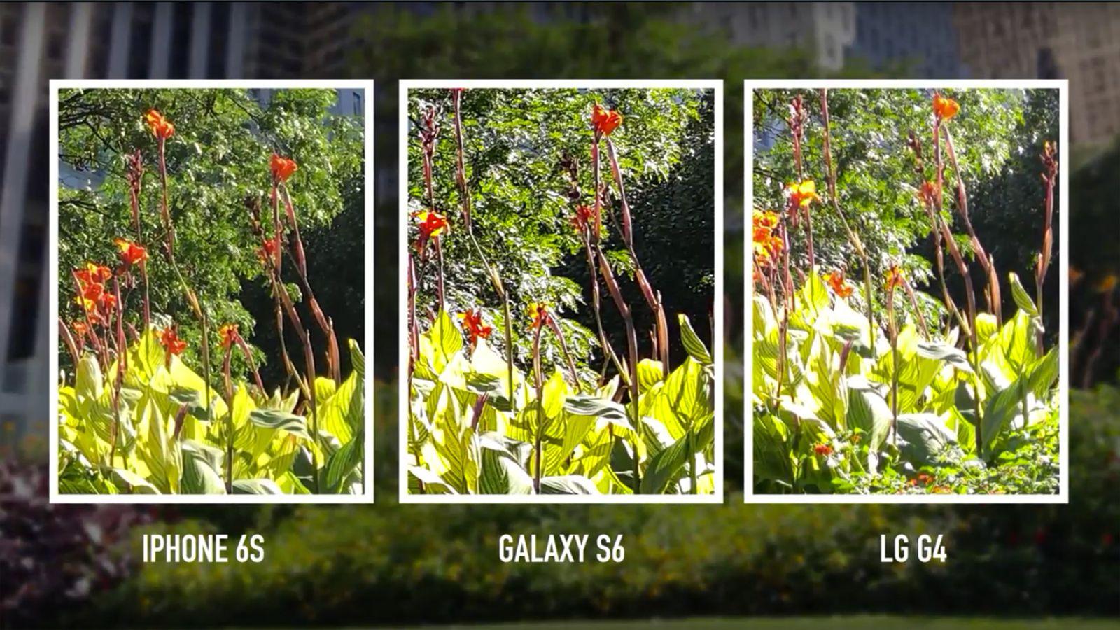 Camera shootout: iPhone 6S vs. Galaxy S6 vs. LG G4